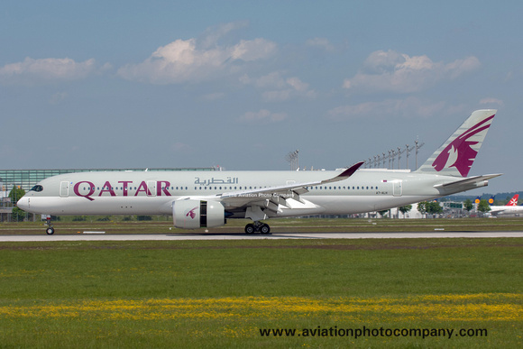 The Aviation Photo Company: Latest Additions &emdash; Qatar Airways Airbus A350-900 A7-ALH at Munich IAP (2016)