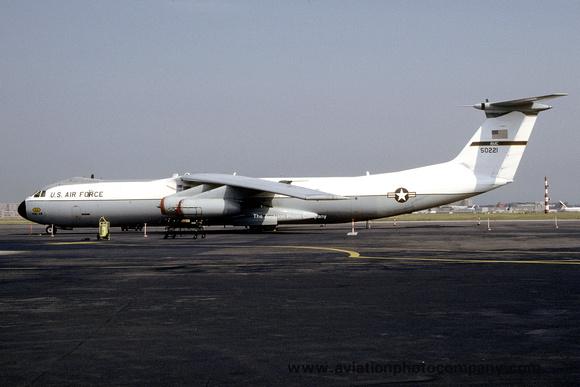 The Aviation Photo Company: C-141 Starlifter (Lockheed) &emdash; USAF 438 AW Lockheed C-141B Starlifter 65-0221 at Rhein Main (1992)