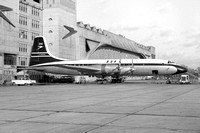 BOAC Bristol Britannia G-AOVO at London Heathrow