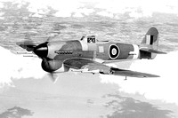 Royal Air Force Hawker Typhoon Air to Air