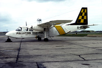 Department of Transport Pollution Control Britten Norman BN-2 Islander G-BJWO (1984)