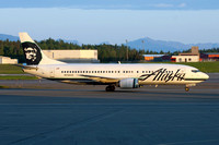 Alaska Airlines Boeing 737-400 N756AS at Anchorage IAP (2014)