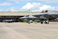 USAF, US Marines and RAF Lockheed F-35s at RIAT Fairford (2016)