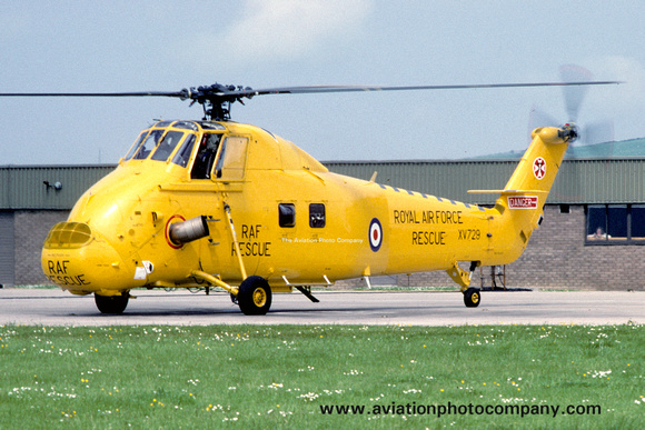 The Aviation Photo Company: Latest Additions &emdash; RAF 22 Squadron Westland Wessex HC.2 XV729 (1983)