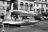 RAF Supermarine S.6B S1596 on Horse Guard's Parade (1959)