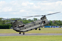 RAF 28 Squadron Vertol Chinook HC.4 ZA714 at RIAT Fairford (2016)