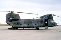 RAF 78 Squadron Vertol CH-47 Chinook HC.1 ZA709 at Mount Pleasant (1994)