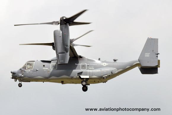 The Aviation Photo Company: Latest Additions &emdash; USAF 352 SOW 7 SOS Bell-Boeing CV-22B Osprey 12-0063 at RIAT Fairford (2016)