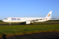 BH Air Airbus A321-200 LZ-BHK at Manchester IAP (2016)