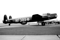 RAF BCBS Avro Lincoln B.2 RF389 at Duxford (08.1960)