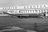 British European Airways De Havilland Comet 4B G-APMD at London Heathrow