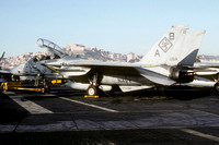 US Navy VF-102 Grumman F-14A Tomcat 161155/AB-113 on board USS America (1992)