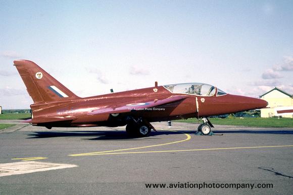 The Aviation Photo Company: Latest Additions &emdash; RAF Red Arrows Folland Gnat T.1 XR540 (1962)