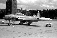 West German Air Force WS10 Lockheed T-33A Shooting Star BB+744