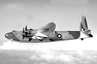 Royal Air Force Vickers Windsor Prototype NK136 Air to Air