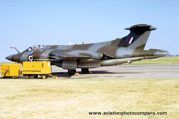 The Aviation Photo Company: Buccaneer (Blackburn) &emdash; RAF 12 Squadron Blackburn Buccaneer S.2 XV165 (1973)