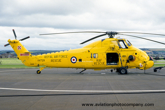The Aviation Photo Company: Latest Additions &emdash; RAF 22 Squadron Westland Wessex HC.2 XV729 (1986)