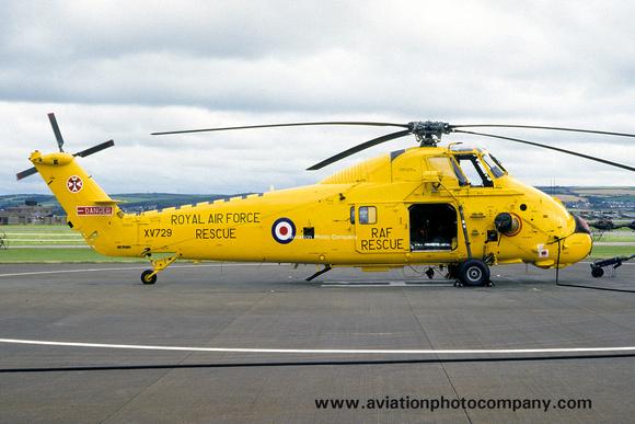 The Aviation Photo Company: Latest Additions &emdash; RAF 22 Squadron Westland Wessex HC.2 XV729 (1986)