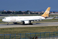 Libyan Airlines Airbus A330-200 5A-LAS at Istanbul IAP (2014)