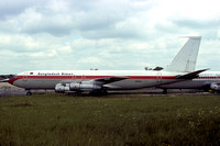 Biman Bangladesh Boeing 707-100B S2-AAL stored at Stansted (1976)