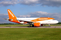 easyJet Airbus A319-100 G-EZDP at Manchester IAP (2016)