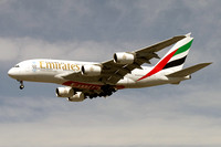 Emirates Airbus A380-800 A6-EOC at Los Angeles IAP (2016)