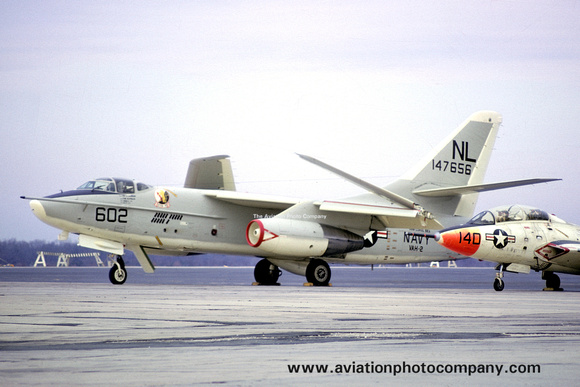 The Aviation Photo Company: A-3 Skywarrior (Douglas) &emdash; US Navy VAH-2 Douglas A-3B Skywarrior 147656/NL-602 (1965)