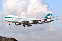 Cathay Pacific Cargo Boeing 747-400F B-HUH at Manchester IAP (2012)