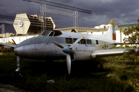 Venezuelan Air Force De Havilland Dove 2531 Preserved at the Maracay Museum (1987)