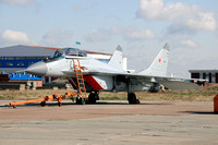 Russian Air Force Mikoyan MiG-29M2 at KADEX 2012 Almaty