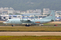 Chinese AF Shaanxi Y-8/KJ200 31076 at the Zhuhai Airshow (2014)
