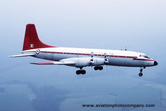 The Aviation Photo Company: Latest Additions &emdash; RAF A&AEE Bristol Britannia XX367 (1984)
