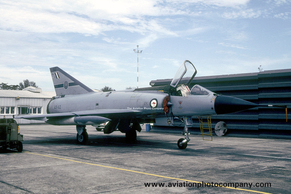 RAAF 79 Squadron Dassault Mirage 3OF A3 62 1988