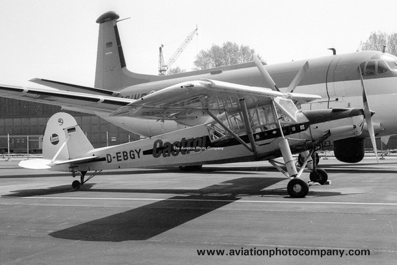 The Aviation Photo Company: Fi156 Storch (Fiesler) &emdash; Castrol Fiesler Fi156 Storch D-EBGY (1978)