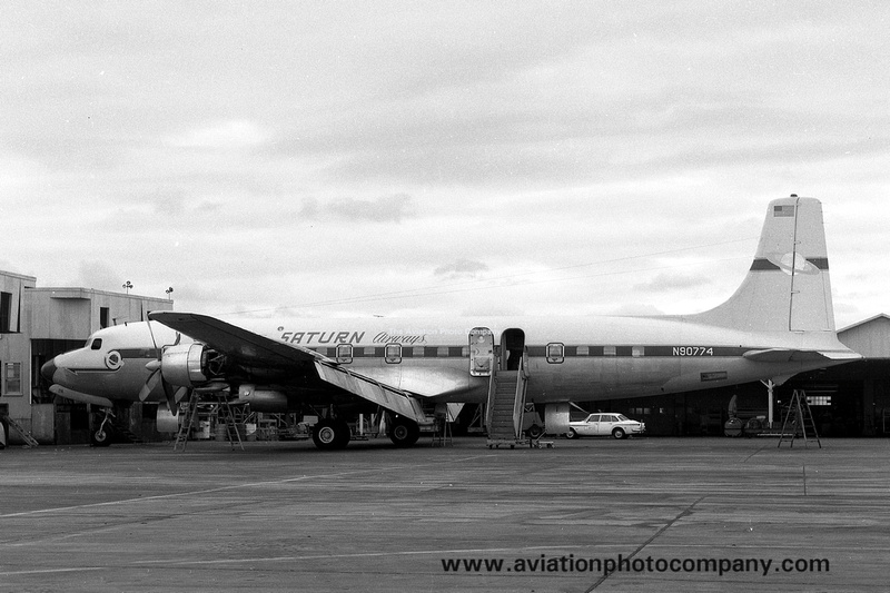 The Aviation Photo Company Douglas Dc 7