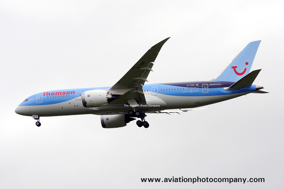 Thomson Boeing 787-8 G-TUIC at Manchester (2013)