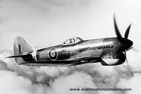 hawker tempest cockpit coloring pages | The Aviation Photo Company | Latest Additions | RAF Hawker ...