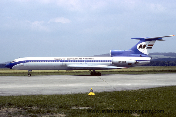 Malev Hungarian Airlines Tupolev Tu-154 HA-LCH (1983)