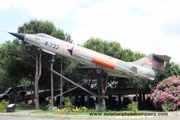 Turkish Air Force Lockheed F-104 Starfighter 62-733 at the Askeri Museum (2015)