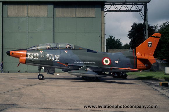 Italian Air Force 60 Stormo FIAT G-91T MM54405/60-105 (1988)