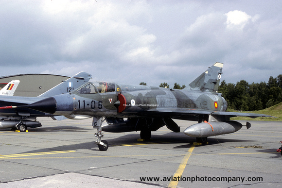 The Aviation Photo Company: Latest Additions &emdash; Spanish Air Force Ala 11 Dassault Mirage 3E C.11-6/11-06 (1988)