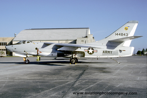 The Aviation Photo Company: A-3 Skywarrior (Douglas) &emdash; US Army Douglas RA-3B Skywarrior 144843 (1985)