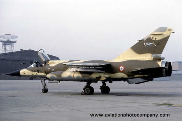 The Aviation Photo Company: Latest Additions &emdash; French Air Force ER2/33 Dassault Mirage F.1R 641/33-NT (1989)