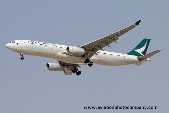The Aviation Photo Company: Latest Additions &emdash; Cathay Pacific Airbus A330-300 B-LAJ at Dubai (2016)
