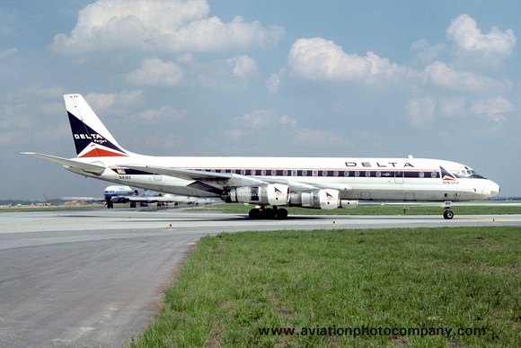 The Aviation Photo Company: Latest Additions &emdash; Delta Airlines Douglas DC-8-51 N818E (1978)