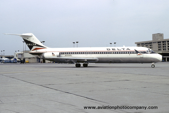 The Aviation Photo Company: Latest Additions &emdash; Delta Airlines Douglas DC-9-32 N3335L (1980)