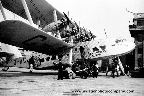 Imperial Airways London Short Scylla G-ACJK