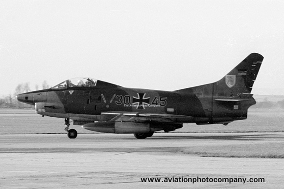 West German Air Force LeKG43 FIAT G-91R 30+45 (1975)