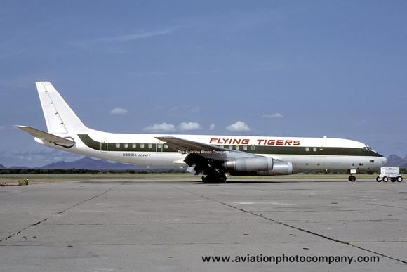 The Aviation Photo Company | Douglas DC-8 | Flying Tiger Line