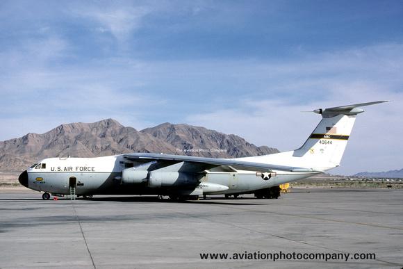 The Aviation Photo Company: C-141 Starlifter (Lockheed) &emdash; USAF 437 MAW Lockheed C-141A Starlifter 64-0644 (1981)